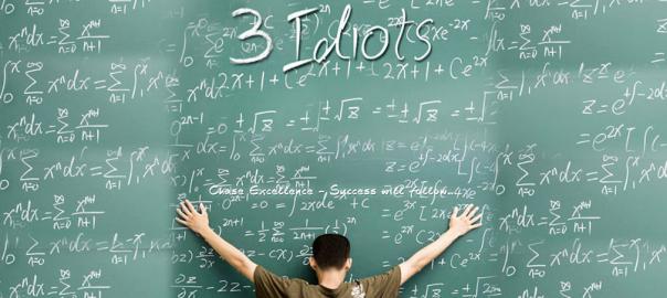 3 idiots போதித்த பாடம்